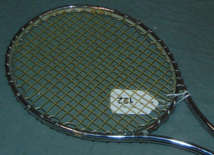 Jimmy Connors Signed & Used Tennis Racquet