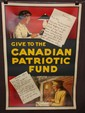 Canadian World War One Poster.