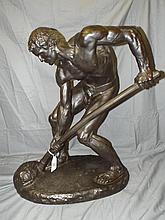 Alfred Boucher  (1850 - 1934) Bronze.