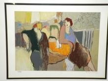 Tarkay Signed Lithograph, Casual Dining