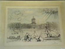 Salvador Dali, Academy of France Signed Litho