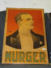 Deritz-Lorito, MURGER Poster, circa 1920's