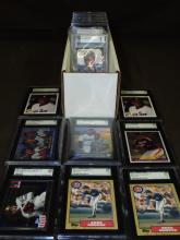 Graded Sports Card Lot.