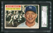 1956 Topps Mickey Mantle #135