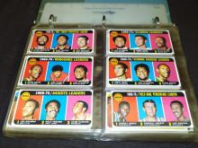 1970 Topps Basketball Near Complete Set.