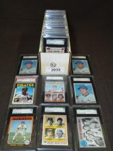 Lot of Graded 1970's Baseball Star Cards.