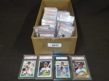 Ken Griffey Jr. Graded Card Lot.