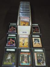 Graded Modern Superstar Basketball Card Lot.