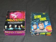 Star Trek Unopened Wax Boxes.