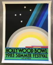 1983 Hollywood Bowl Summer Festival Poster