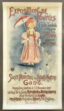 1897 Exposition De Poupees French Poster