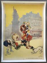Maurice Neumont, A La Place Clichy Poster
