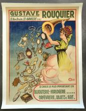 Gustave Rouquier, Jewelry Advertising Poster