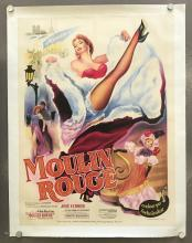 1953 Moulin Rouge, Paris French Grande Poster