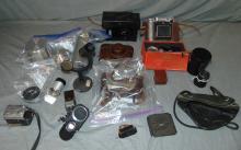 Camera Accessory Lot.