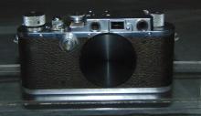 Leica 3-F Camera.