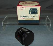 Leitz Wetzlar Lens Boxed.