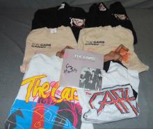 (6) The Cars Concert Shirts