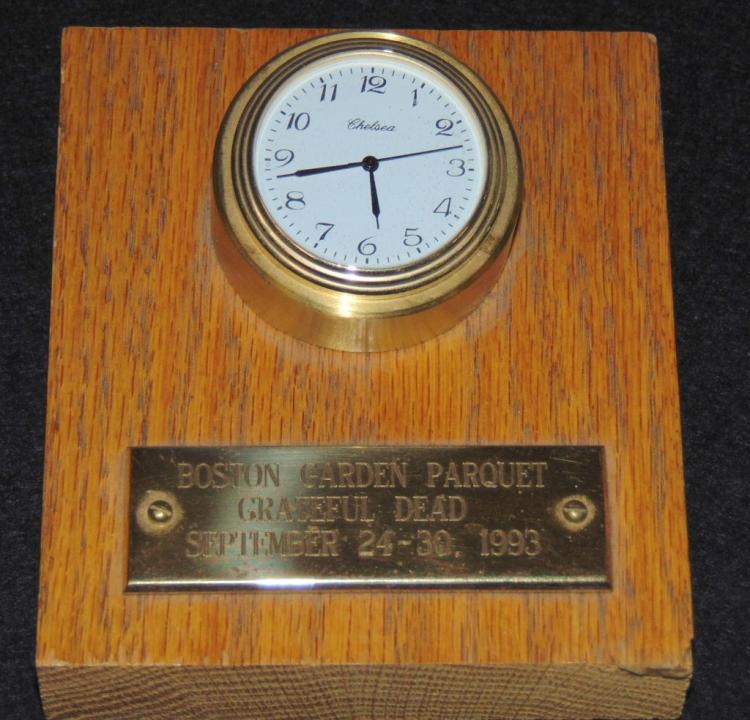 Grateful Dead Boston Garden Parquet Award