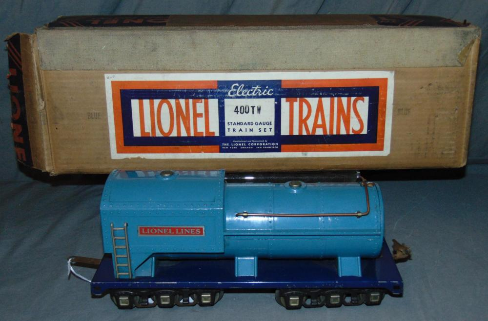 Boxed Lionel 400TW Separate Sale Blue Tender