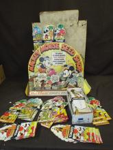Mickey Mouse Seed Counter Display.
