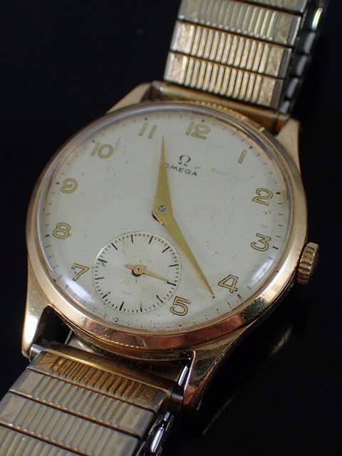 An Omega watch