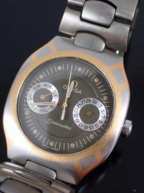 An Omega Seamaster watch