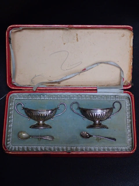 Silver salts in fitted box