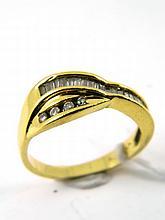 A diamond set ring