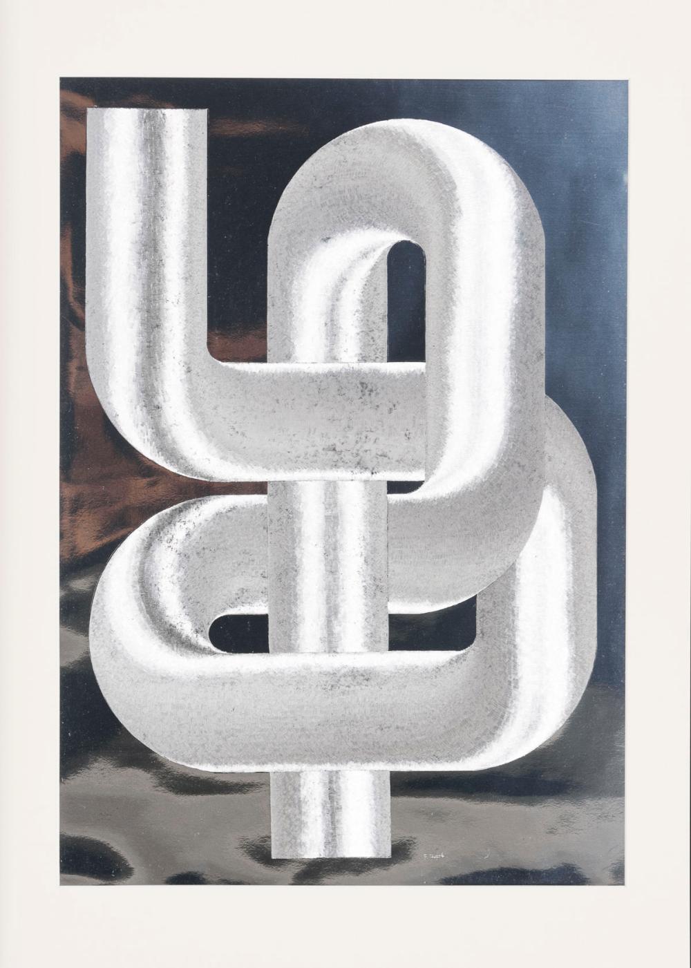 DUPRÉ, Patrick (*1945 Paris). Sculpture Cinétique.