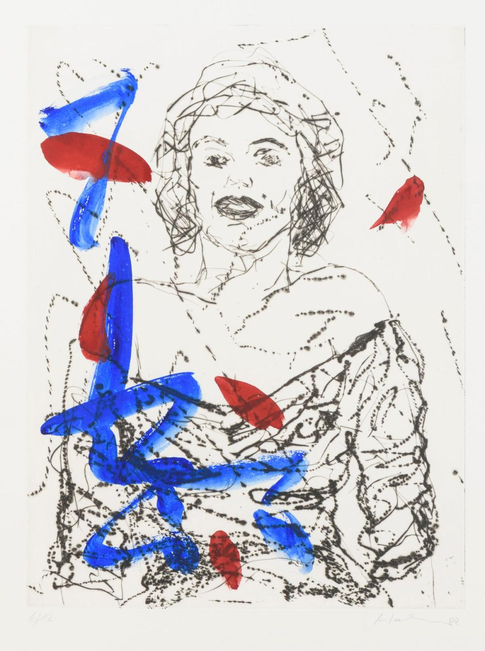 "HAHN, Friedemann (*1949 Singen am Hohentwiel). ""Marilyn Monroe""."