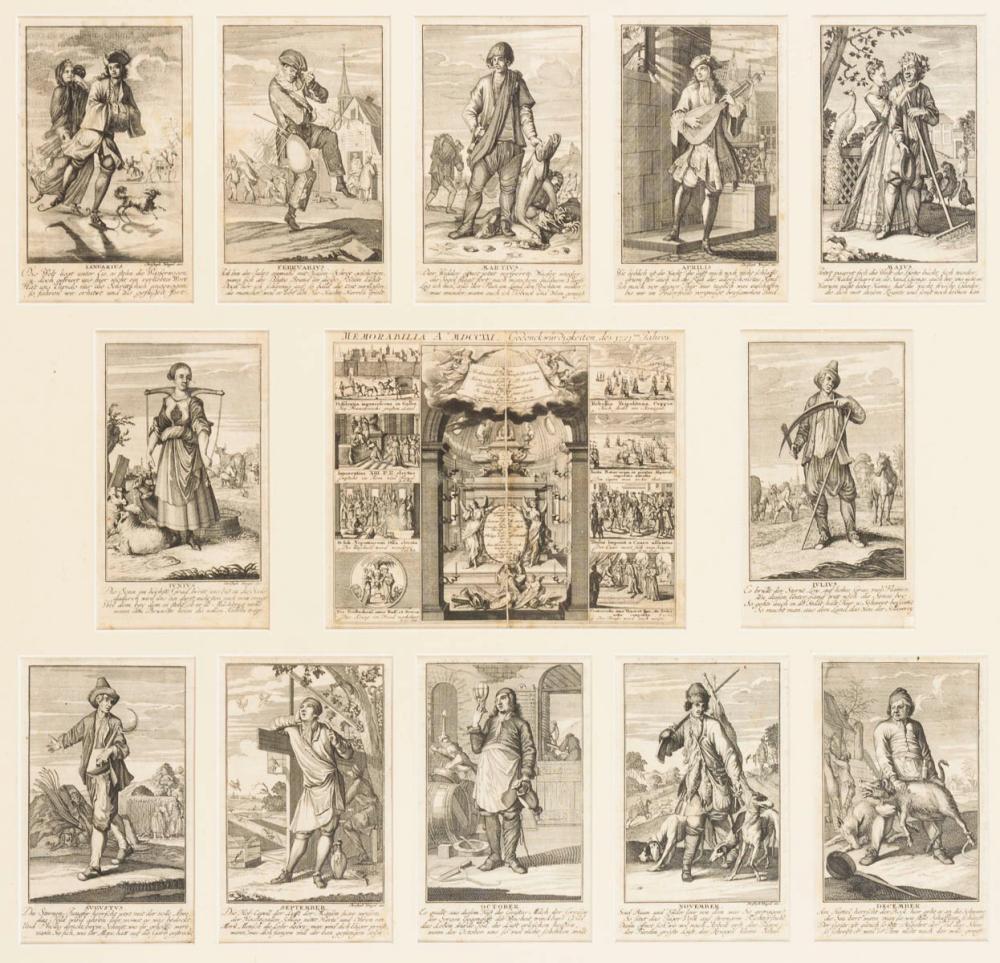 WEIGEL, Christoph (1654 Redwitz - 1725 Nürnberg). Taschenkalender des Jahres 1722.