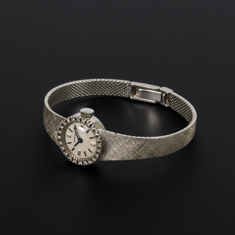 """Damenarmbanduhr """"KASPER"""" mit Diamanten."""