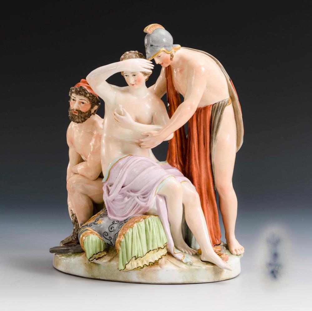 Mythologische Gruppe. KPM Berlin.