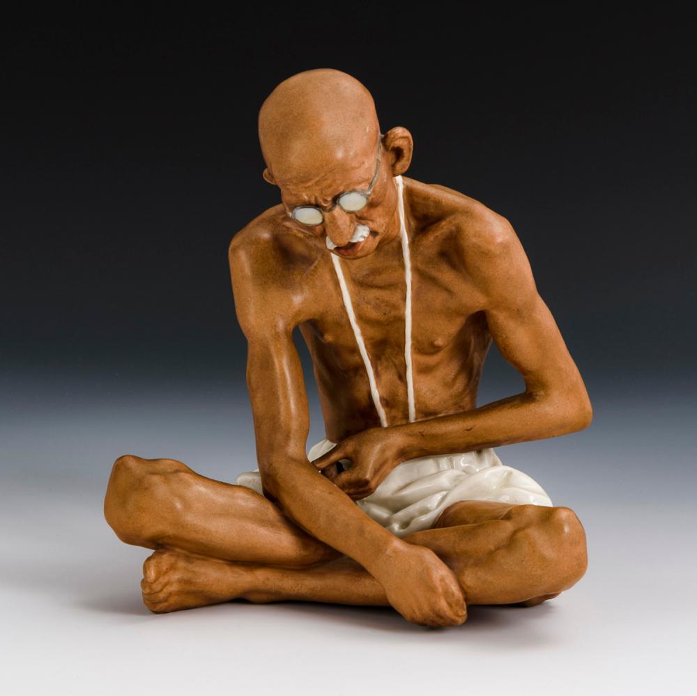 Mahatma Gandhi. Royal Dux.