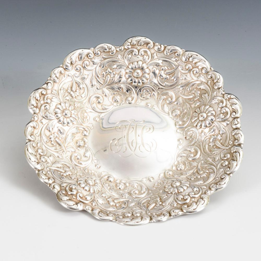 Kleine Silberschale. Tiffany & Co.