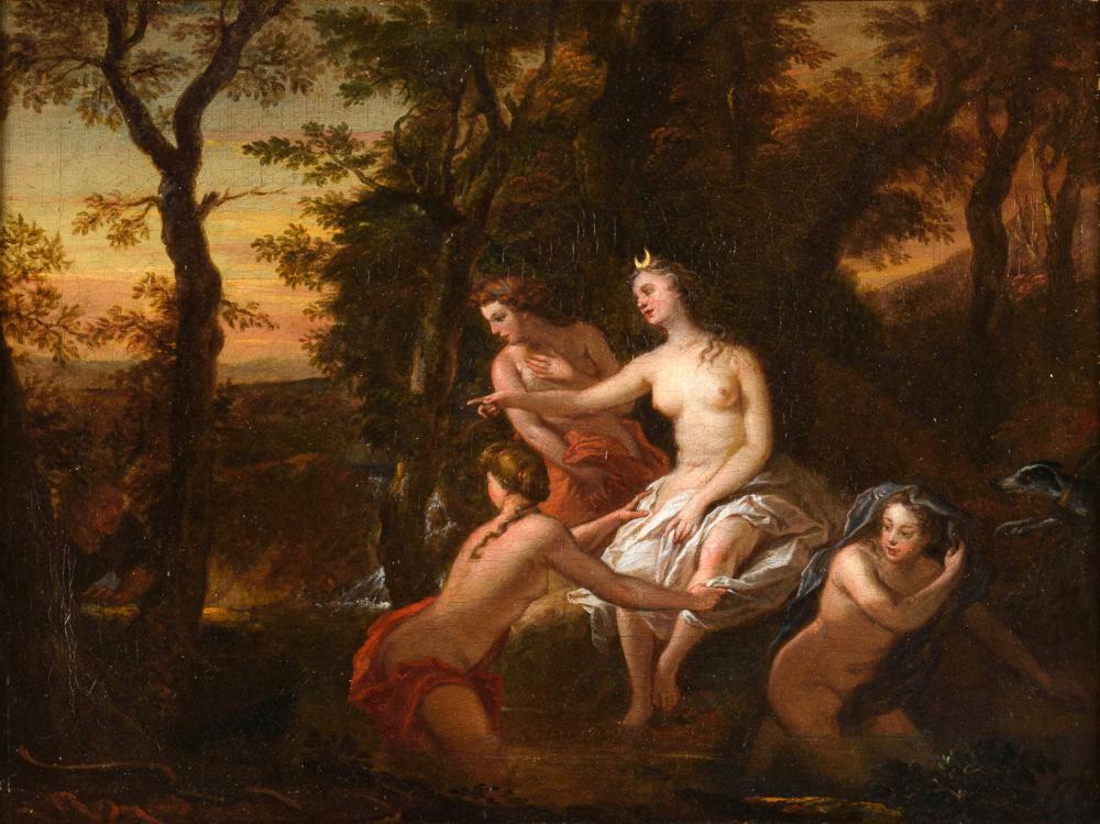 LAFOSSE, Charles de - Nachfolge. Diana und Acteon.