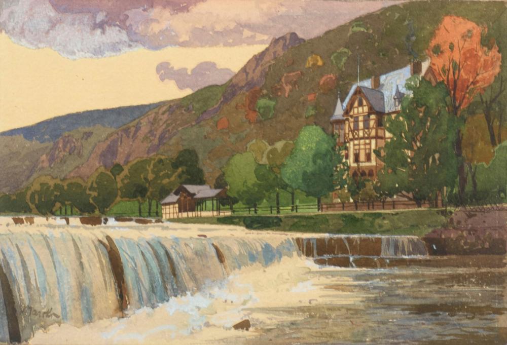 MARCKS, Alexander (1864 Hannover - 1909 München). Schwarzatal.