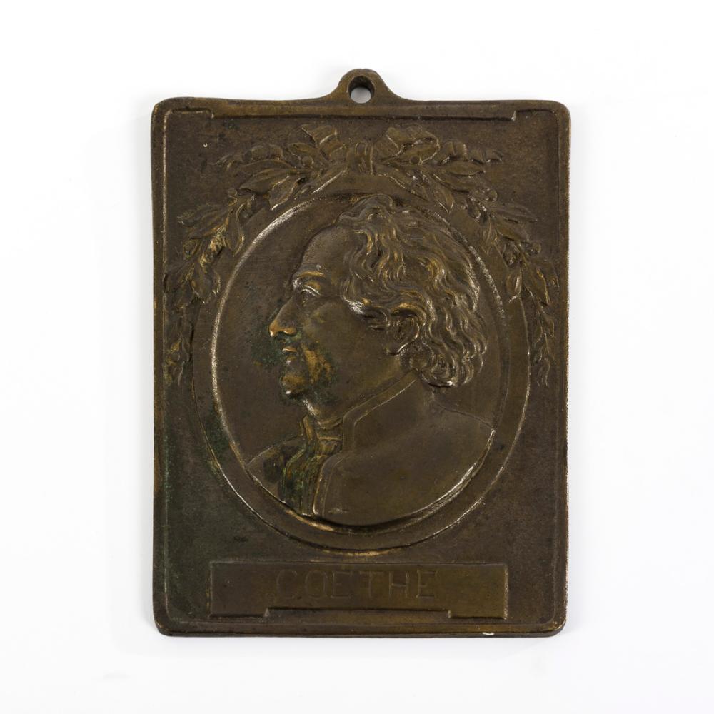Goethe-Plakette.