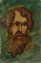 NÜSSLEIN, Heinrich (1879 Nürnberg - 1947 Ruhpolding). Nüsslein, Heinrich: Bildnis.