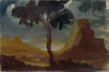 NÜSSLEIN, Heinrich (1879 Nürnberg - 1947 Ruhpolding). Nüsslein, Heinrich: Landschaft.