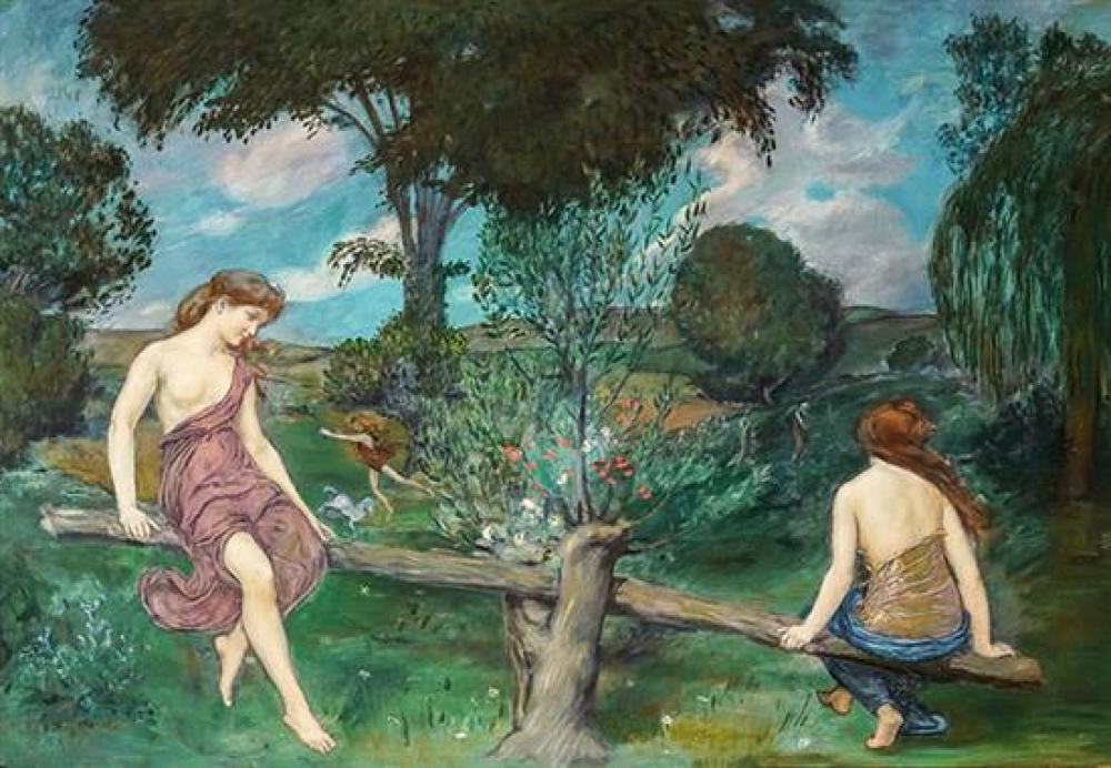 Joseph Mortimer Lichtenauer, Jr. (American 1876-1966), Moods-Allegorical
