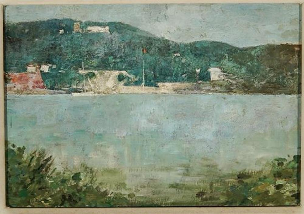 Emil Carlsen (American 1853-1932), Coastal Scene, Possibly St. Thomas