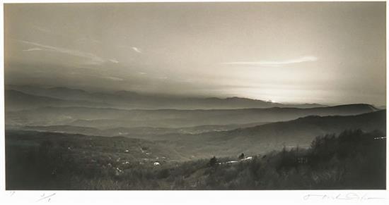 Hiroshi Osaka (Japanese b. 1956), Atmospheric Landscape #11 and #31: Two Works