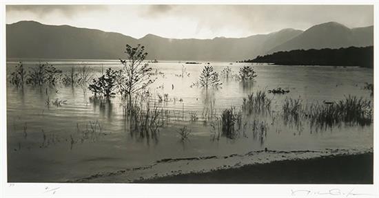 Hiroshi Osaka (Japanese b. 1956), Atmospheric Landscape #21 and #23: Two Works