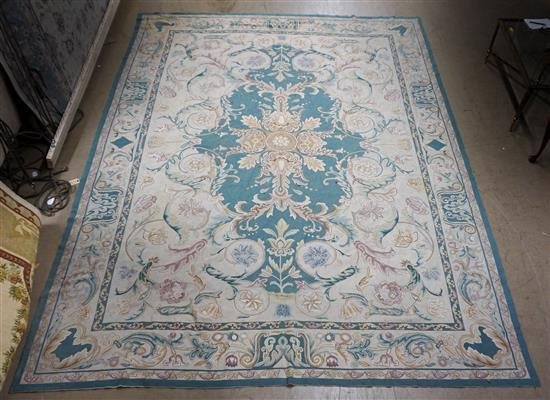 Chinese Aubusson Pattern Rug, 14 ft x 10 ft