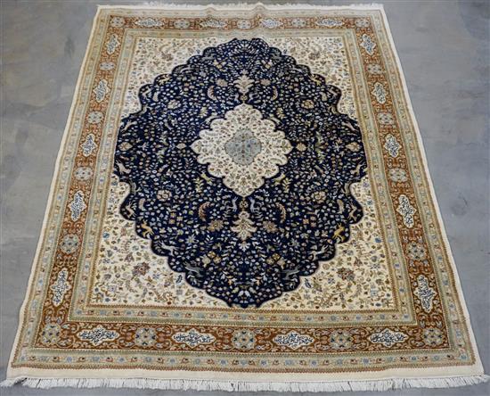 Indo-Tabriz Rug, 11 ft 8 in x 8 ft 10 in