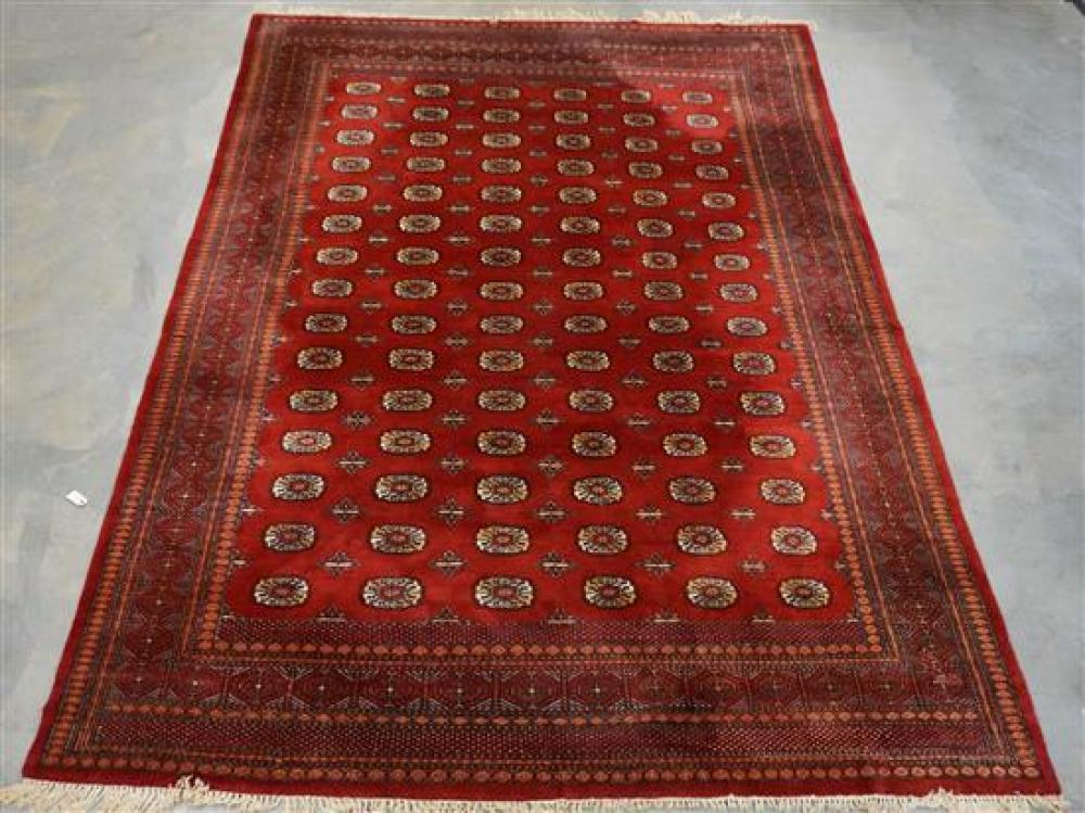 Pakistan Bokhara Rug, 12 ft 2 in x 9 ft 3 in