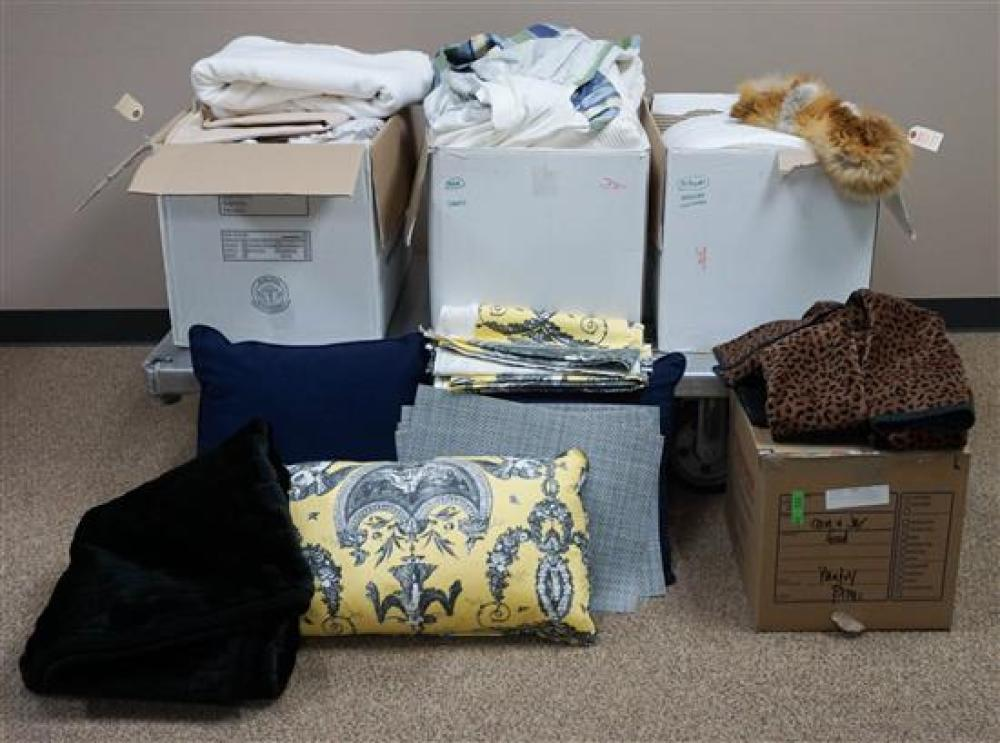 Group of Assorted Bed and Bath Linens, Placemats and other Table Linens