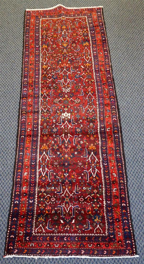 Hamadan Runner, 10 ft x 3 ft